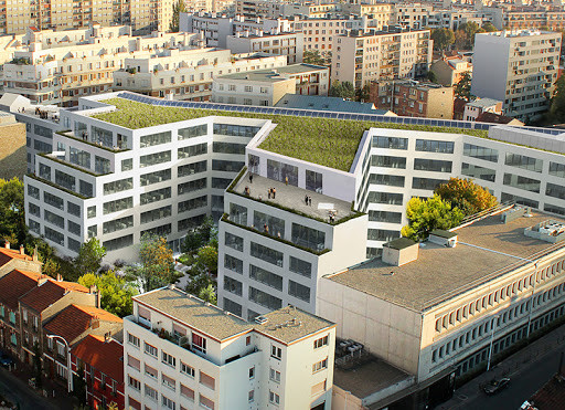 """Immeuble """"White"""" à Montrouge"""